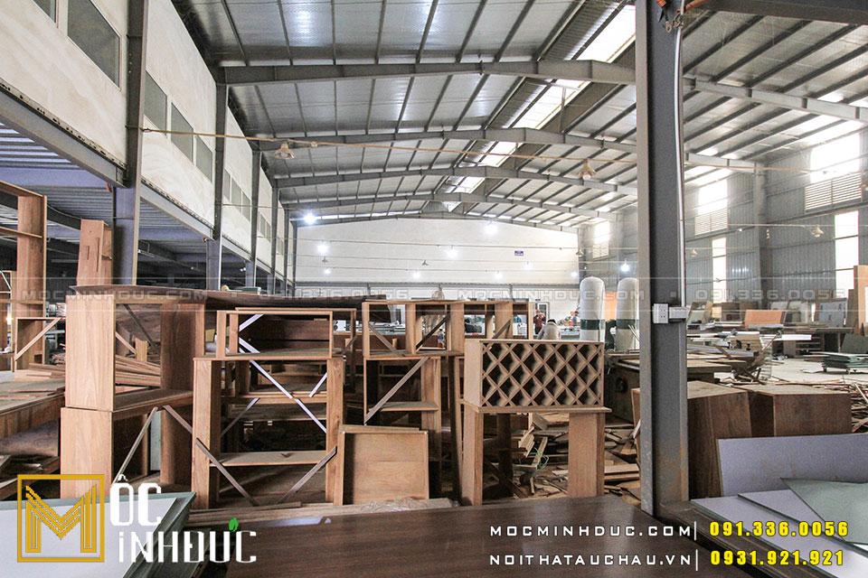 Xưởng sản xuất nội thất tại Hà Nội