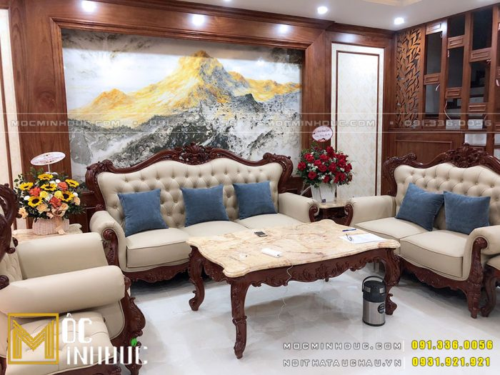 Sản xuất bàn ghế Sofa phòng khách