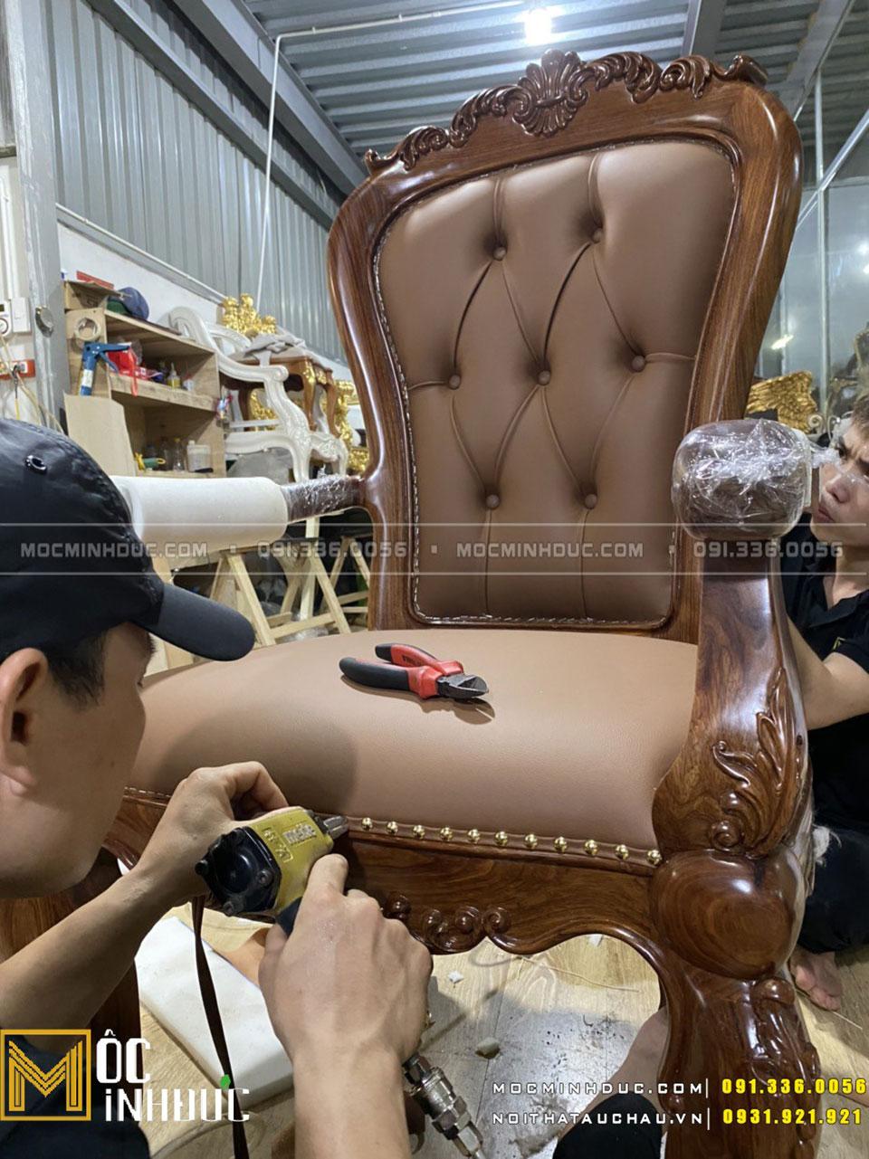 Sản xuất ghế giám đốc theo yêu cầu
