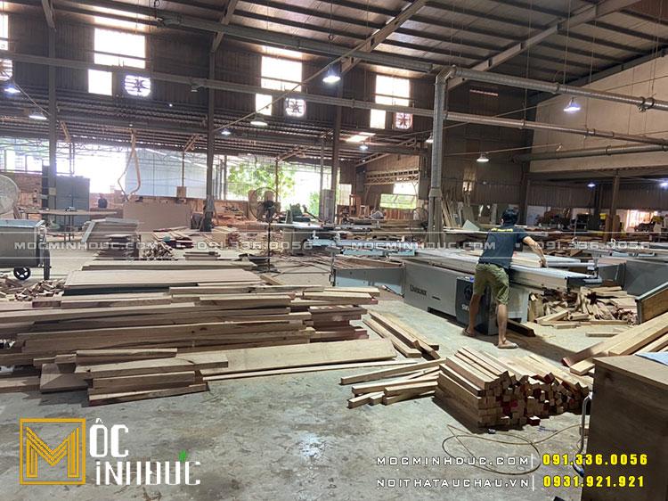 Gia công đồ nội thất gỗ tự nhiên