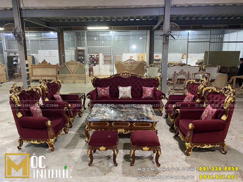 Hoàn thiện bộ Sofa theo yêu cầu của khách hàng