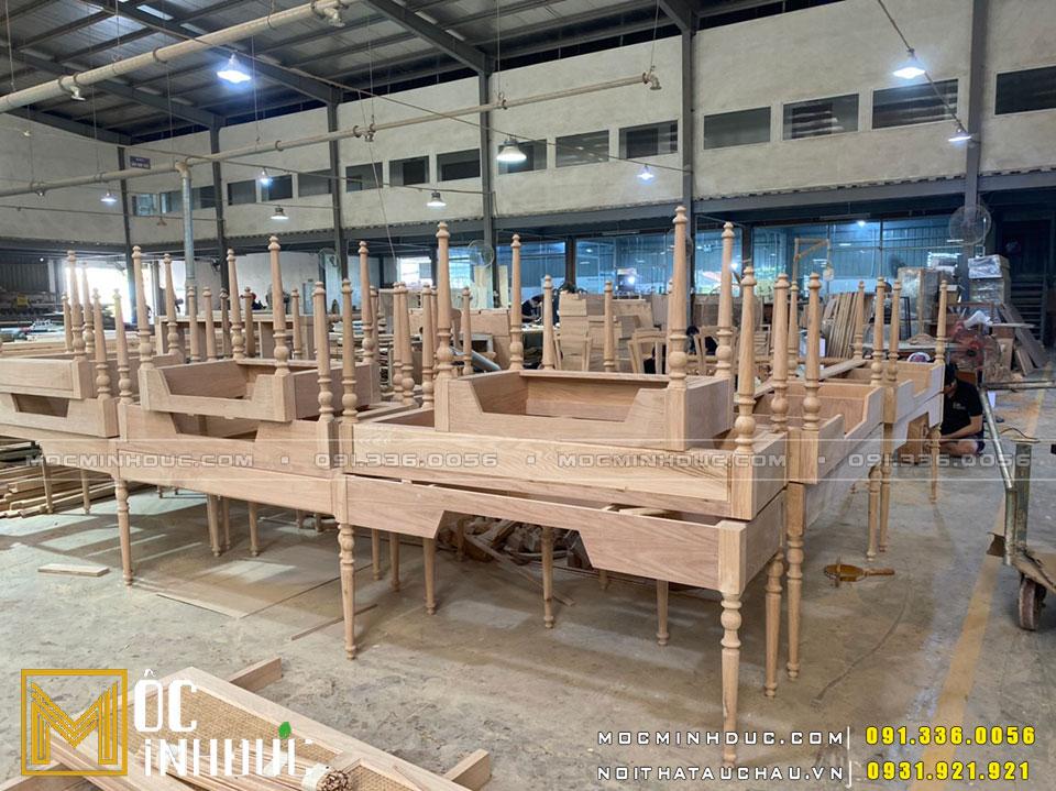 Quy mô sản xuất nội thất lớn nhất Hà Nội