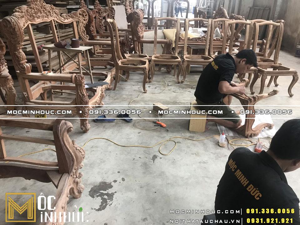 Sản xuất nội thất trực tiếp tại Xưởng